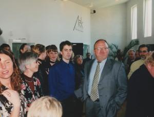 16.april 1999 - Kramer klipper snoren! til udbygningerne !