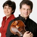 Semjon og Bella Kalinowsky, der spiller henholdsvis bratsch og klaver