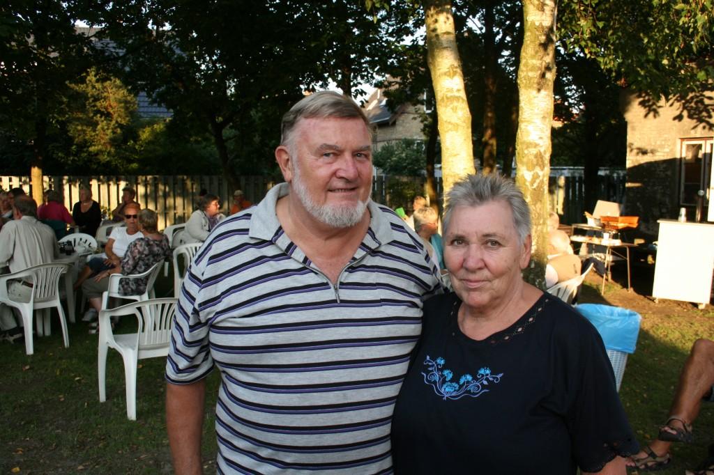 Leif og Ina petanque
