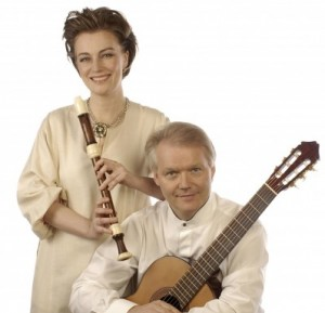 Michala Petri og Lars HannibalFoto:Peter Olsen