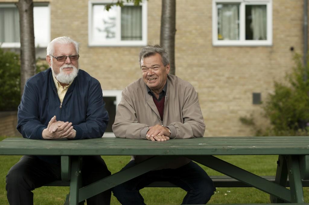 Stig og Kjeld på bænk MIKAL SCHLOSSER (1)
