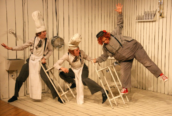 Teatergruppen Batida, Spaghetti, pressefoto