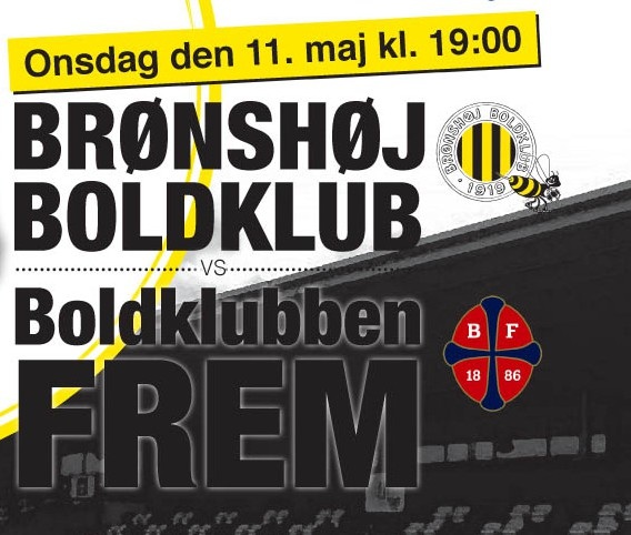 Bronshoj plakat Nykøbing.Frem