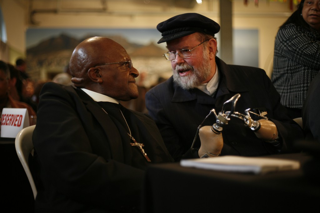 THE BOOK LAUNCH OF FATHER MICHAEL LAPSLEY'S BOOK 'REDEEMING THE PAST'!